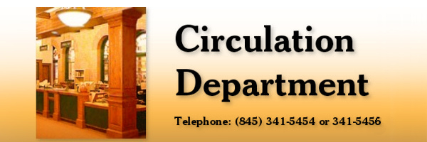 The Middletown Thrall Library Web Site - The Circulation Department