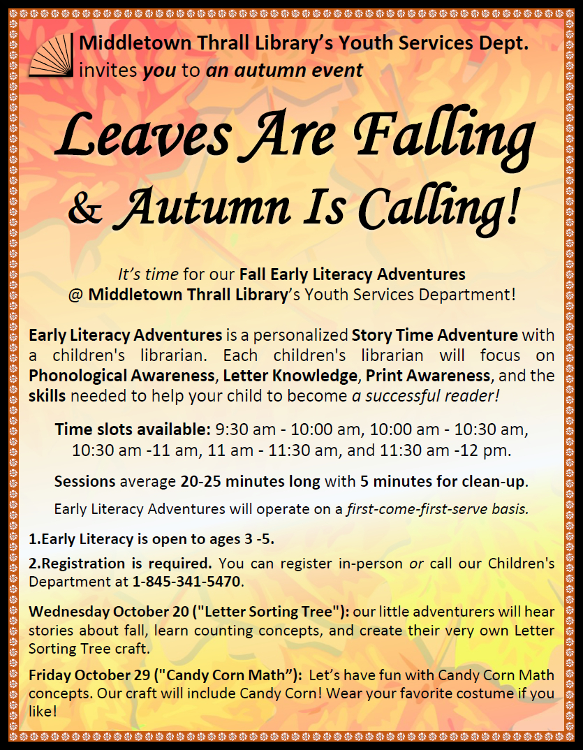 Leaves are Falling and Autumn Is Calling!