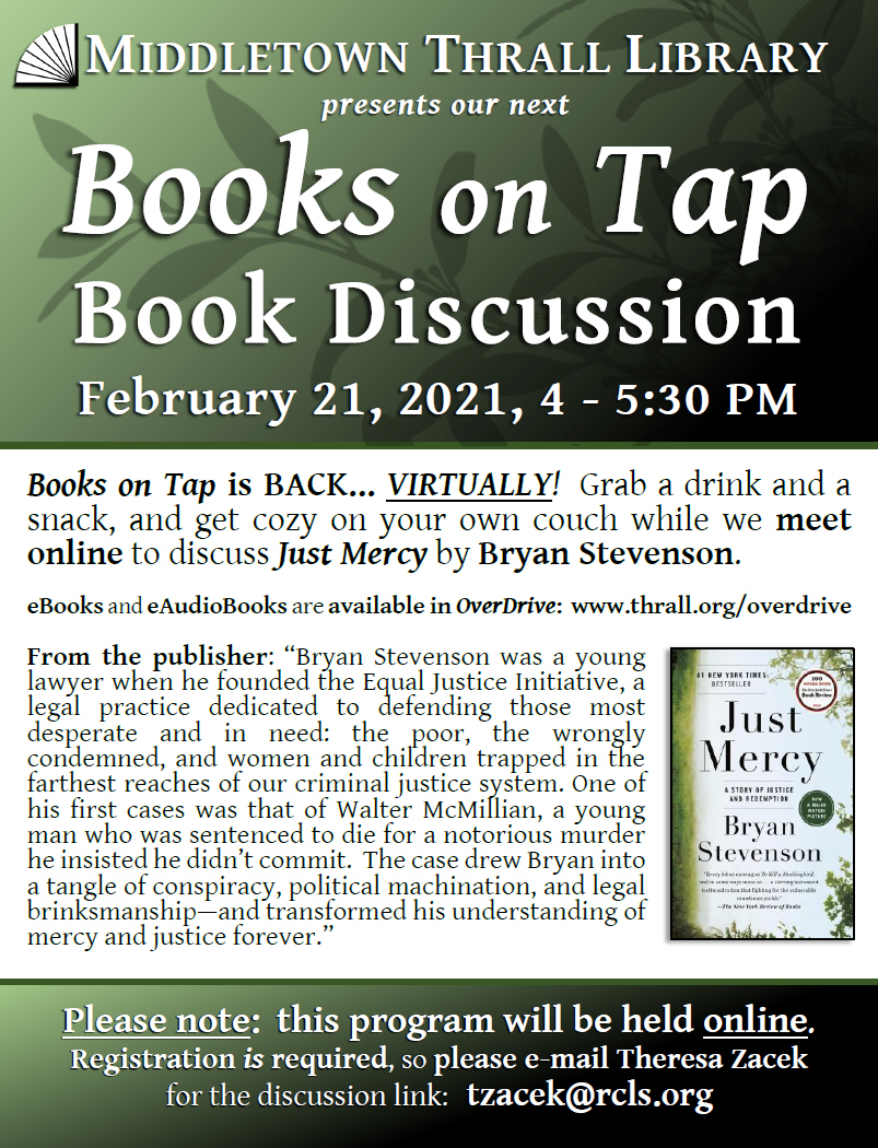 Books on Tap: Feb. 2021
