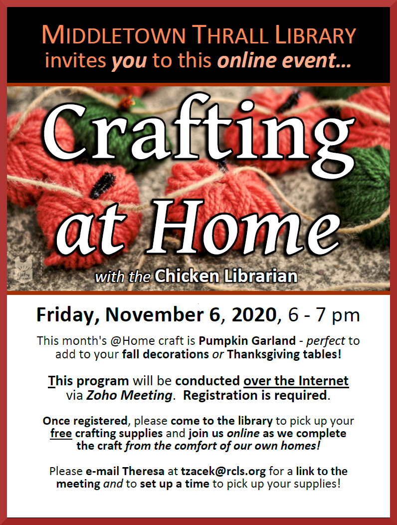 Crafting at Home - November 2020