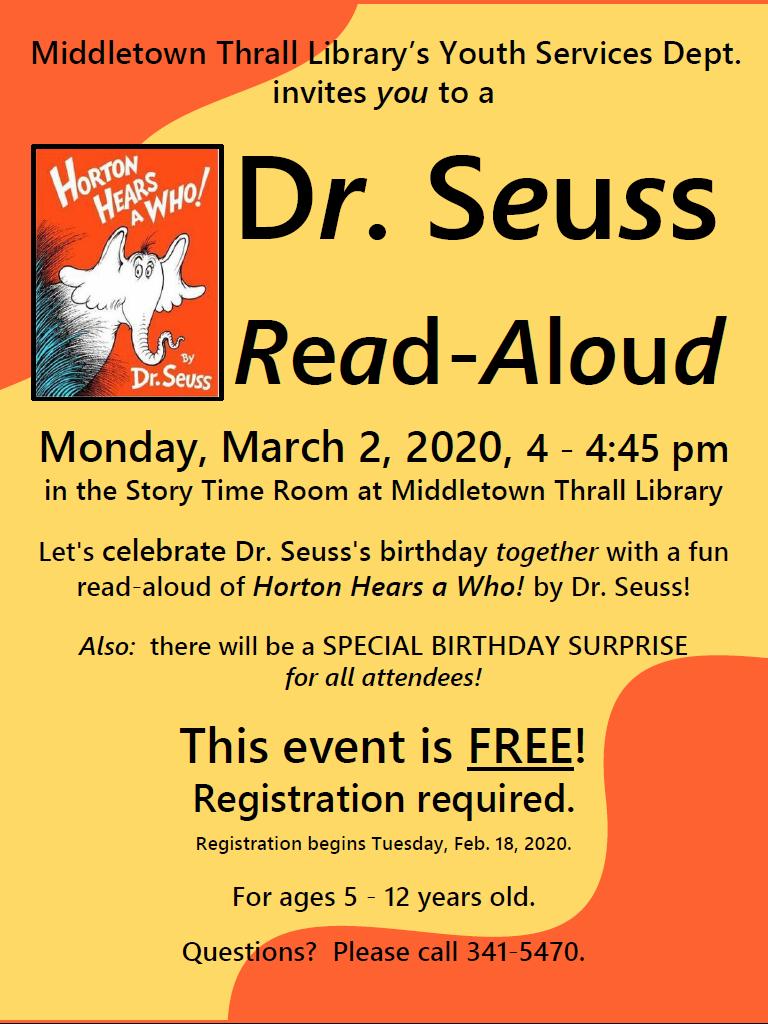 Dr. Seuss Read-Aloud