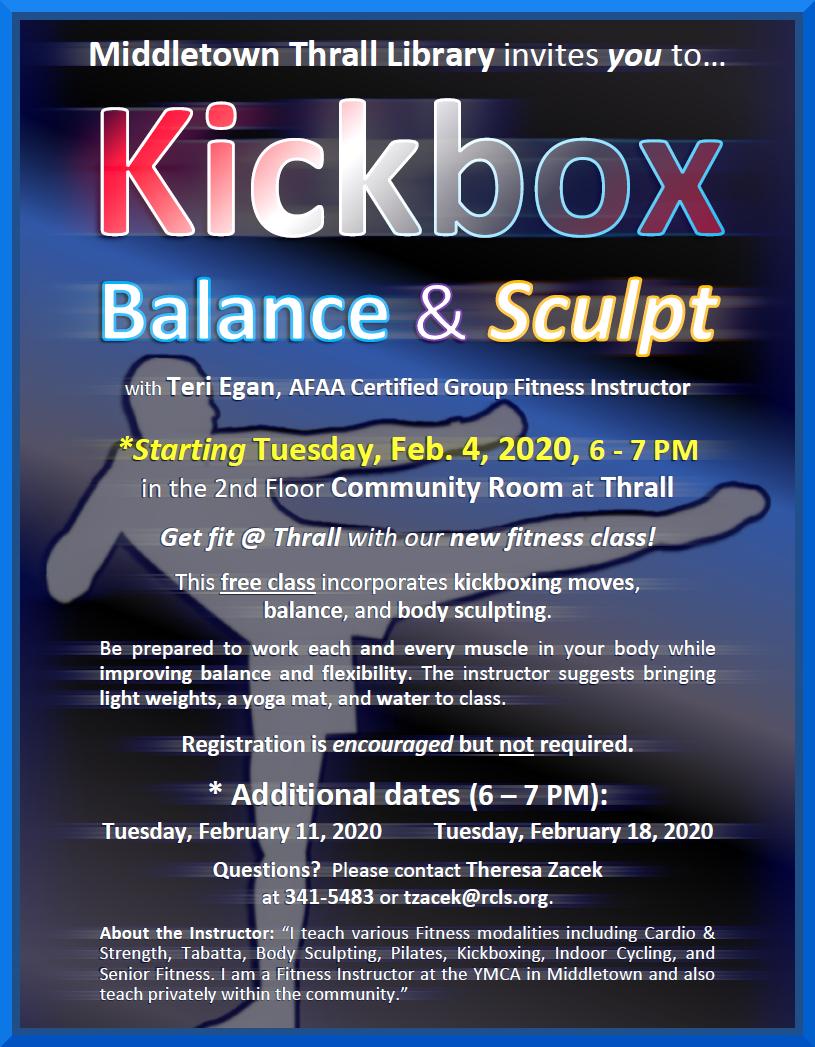 Kickbox: Balance and Sculpt