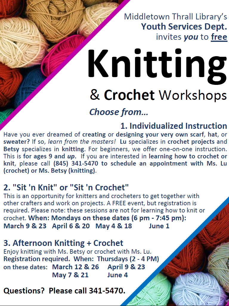 Knitting and Crochet 2020