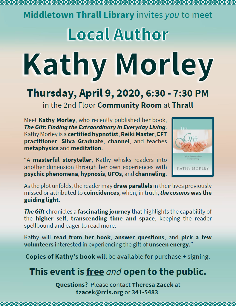 Local Author Kathy Morley