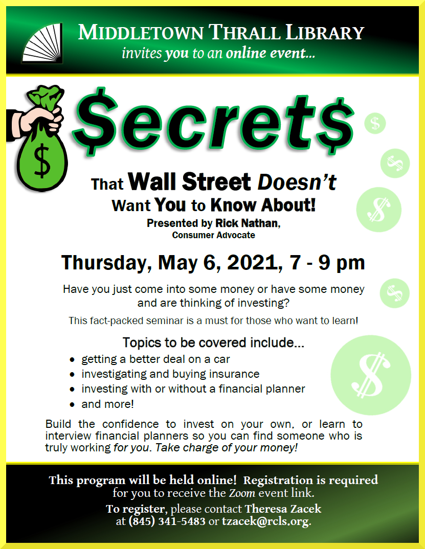 Secrets that Wall Street Doesn't Want You to Know About