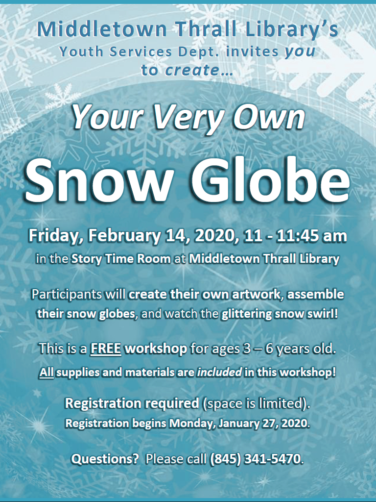 Create Your Own Snow Globe